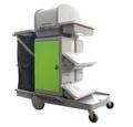 SUPA CABINET TROLLEY WITH FLAT MOP SYSTEM